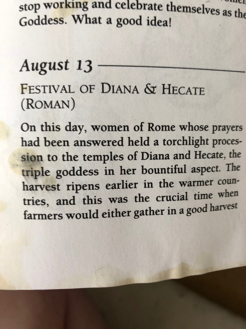festival of diana and hecate 1